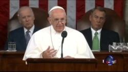 罗马天主教宗国会讲话呼吁团结和进步