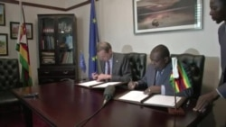 Zimbabwe and EU Mission Sign MOU Paving Way to Observe Election Process