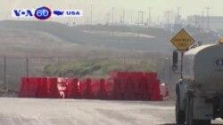 Mỹ bắt đầu triển khai xây tường biên giới với Mexico