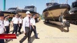 Mỹ cấp thêm tàu tuần tra cho Việt Nam
