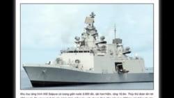 Tàu chiến Ấn Độ sắp ghé thăm VIệt Nam
