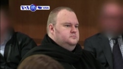 VOA60 America- Kim Dotcom to be extradited to the US