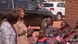 "Melania Trump Brings ""Be Best"" to Lilongwe, Malawi"
