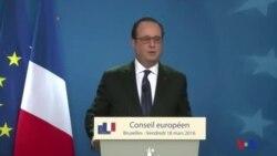 François Hollande réagit sur l'arrestation Salah Abdeslam