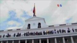 Candidato presidencial de Ecuador de visita en Venezuela.