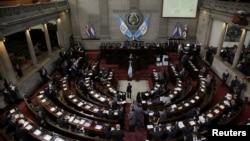 El 13 de octubre se cumplió un año sin que las Cortes de Justicia se hayan renovado en el Congreso de Guatemala, según el plazo establecido en la Constitución Política de la República. Foto de archivo Reuters.