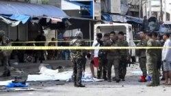 2019-01-28 美國之音視頻新聞: 菲律賓教堂炸彈襲擊案已造成20人死亡81人受傷