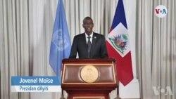 Prezidan Jovenel Moise Pran Lapawòl nan Asanble Jeneral Nasyonzini an kote li Pran Angajman pou l Òganize Eleksyon