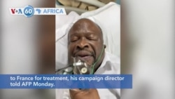 VOA60 Africa - Congo: Presidential Opposition Candidate Dies of COVID-19