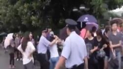 上海發生抵制化工廠項目的抗議活動