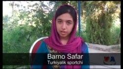 Turkiyalik sportchi qiz Barno Safar bilan suhbat