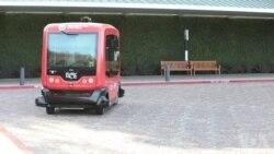 大胆上车:在加州初次体验无人驾驶巴士