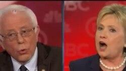 美國民主黨總統參選人正面辯論