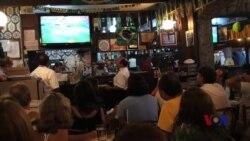 巴西人涌入伊帕内玛酒吧观战世界杯