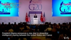 Obama Unveils New Intelligence Sharing Deal With France