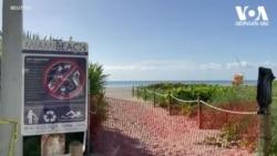 პანდემიის გამო მაიამის სანაპიროები ხელახლა ჩაკეტეს