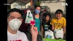 周末的华裔外卖小哥 助中国城餐馆渡难关