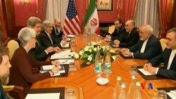 2015-03-17 美國之音視頻新聞:克里與伊朗外長繼續舉行核談判
