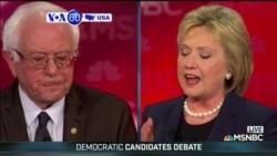 VOA60 America - Clinton and Sanders - who is the true progressive?