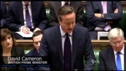 Britain's Cameron: It's Time to Bomb Militants in Syria