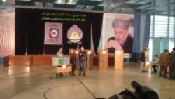 سخنرانی حامد کرزی در روز انتخابات