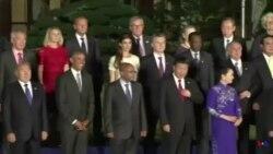 奧巴馬在G20峰會期間 會見多國領袖