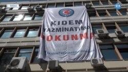 Ankara'da İşçilerden Hükümete Çağrı