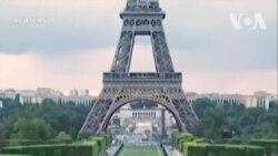 Nghệ sĩ Pháp vẽ tranh khổng lồ ủng hộ di dân