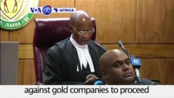 VOA60 Africa - Miners to Launch South Africa's Largest-Ever Class Action Suit
