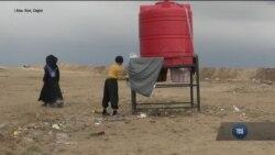 Надзвичайна ситуація розгортається у таборах для біженців Ісламської держави. Відео