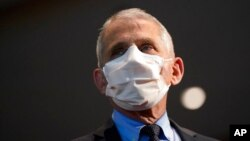 FILE - Dr. Anthony Fauci, director of the National Institute of Allergy and Infectious Diseases.
