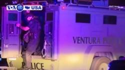 Manchetes Americanas 8 Novembro: Doze pessoas incluindo um policia, foram mortas e uma dezena feridas num bar na Califórnia