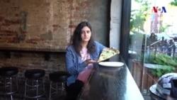 Nyu-Yorkda pizzanın dadına baxdıq
