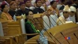 2016-03-22 美國之音視頻新聞: 昂山素姬被任命為緬甸新政府內閣成員