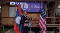 VOA60 DUNIYA: LAOS Shugaba Barack Obama Ya Kai Ziyara A Laos