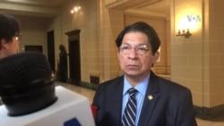 Canciller de Nicaragua habla desde la OEA