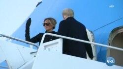 Donald Trump despediu-se, mas prometeu estar sempre presente