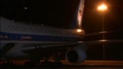 Arrivée de Barack Obama au Kenya