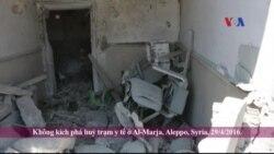 Aleppo tiếp tục bị không kích từ cả hai bên