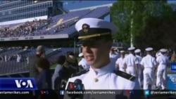 Një oficer shqiptar diplomohet në Akademinë e Marinës Amerikane