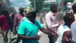 Ayiti: Manifestasyon nan Okay Kont Prezidan Jovenel Moïse