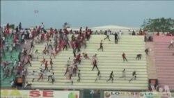 Huit morts dans un stade du foot au Sénégal (vidéo)