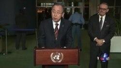 潘基文:使用饥饿作为战争武器是犯战争罪