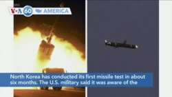 VOA60 America- The U.S. military said it was aware of the reported North Korean launches