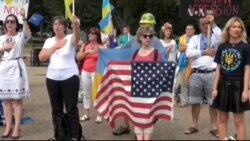 Українці прийшли до Обами зупиняти Третю Світову