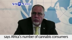 VOA60 Africa - UN: Africa's number of cannabis consumers is double the world average