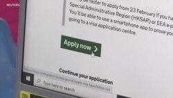 英國周日開通BNO簽證通道 預計30萬人離開香港移民英國