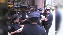 وظیفه پلیس آمریکا در حفظ نظم و آرامش
