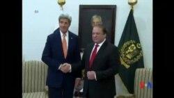 2015-01-13 美國之音視頻新聞: 克里贊揚巴基斯坦打擊激進分子卓有成效