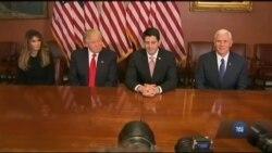 Лідери республіканців і Трамп уже складають амбітні плани. Відео